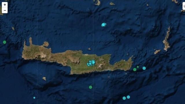 Множество трусове са регистрирани на остров Крит