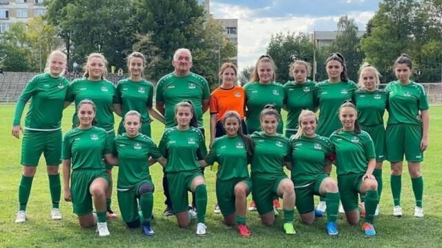 Футболистки от Ловешко с първа победа през този сезон в Женското първенство