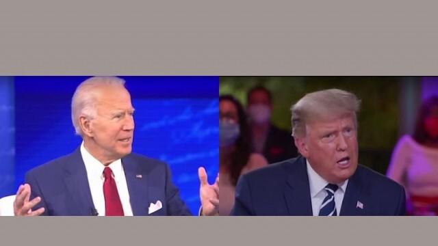Тръмп и Байдън в задочен телевизионен сблъсък
