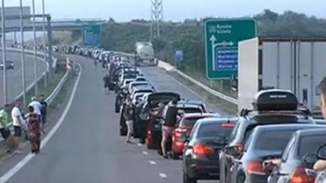 Силно интензивен трафик на ГКПП