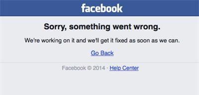 Фейсбук се срина за около час
