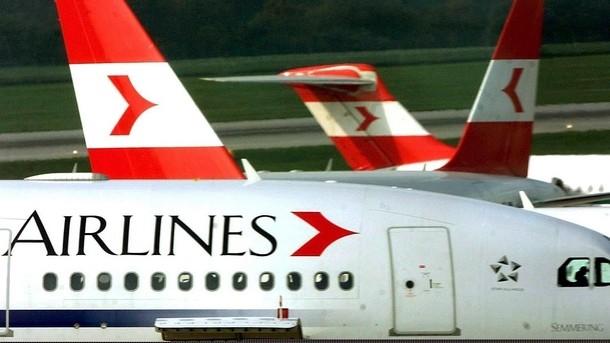 Австрийските авиолинии отменят 300 полета, София след най-засегнатите