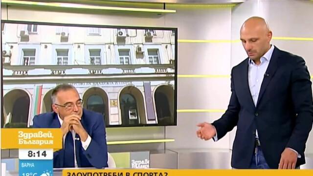 Скандал в студиото на NOVA - Стъки нахлу в ефир при Кутев