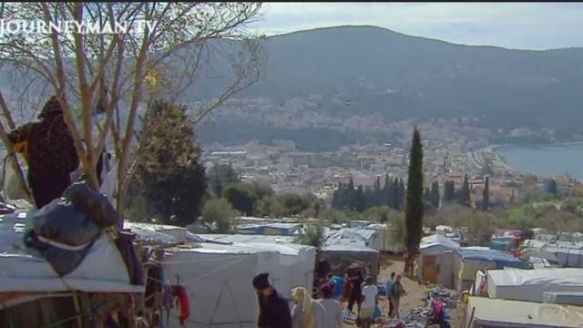 Гръцките власти започват имунизация в бежанските лагери
