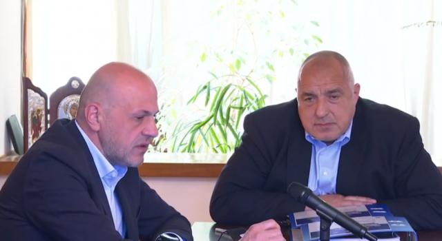 Борисов към Трифонов: Политически страхливец!