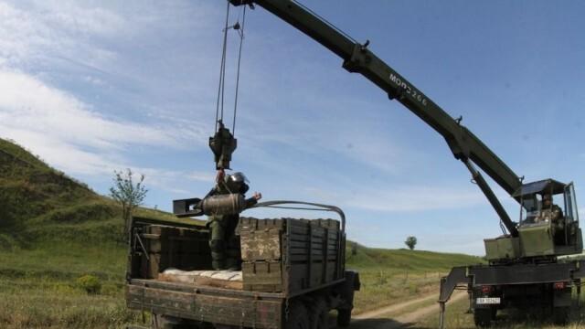 """Взвод за обезвреждане на взривни материали от 55-и инженерен полк в Белене получи сертификация и оценка """"боеготов"""""""