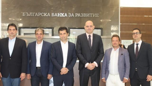 Кирил Петков представи новата управа на ББР