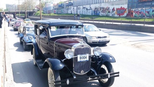 Парад на ретро автомобили приема заявки за участие