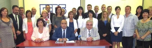 ПП ГЕРБ регистрира в ОИК - Плевен кандидатите си за кметове и общински съветници