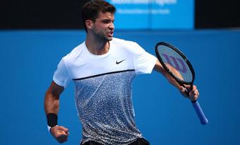 Григор Димитров на 1/8-финал в Австралия
