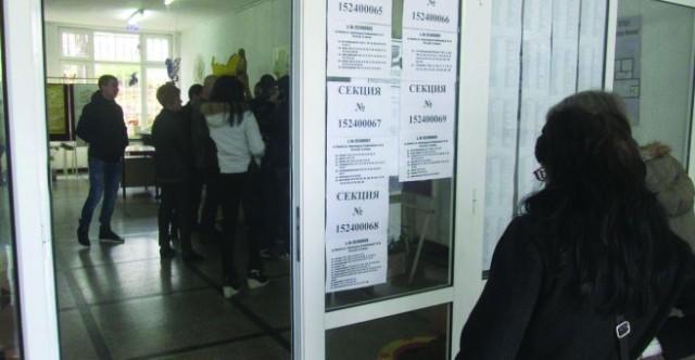 Към 17 часа: 48.01% избирателна активност отчита РИК - Плевен
