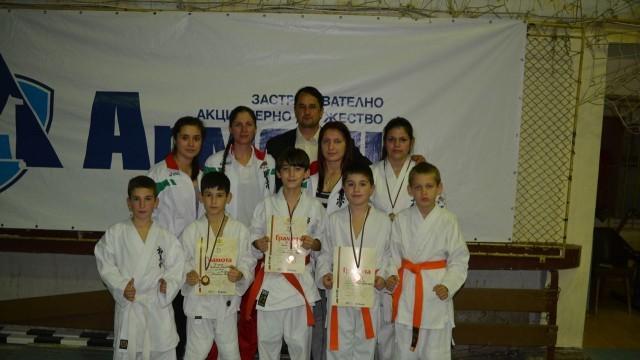 Каратеките от град Левски с медали от два престижни турнира