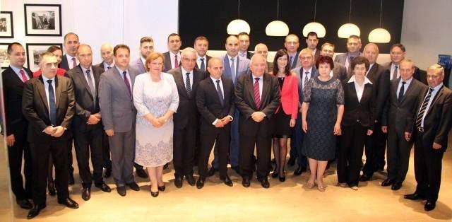 Кметът на Плевен на среща с Жозеф Дол в централата на ЕНП в Брюксел