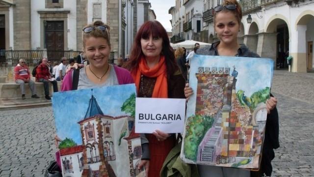 Плевен: Художничката Майя Ананиева с награда от международен конкурс в Португалия