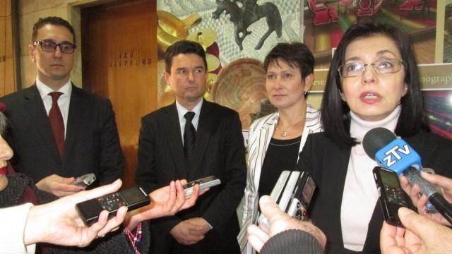 Вицепремиерът Меглена Кунева: Без икономика една нация няма достойнство