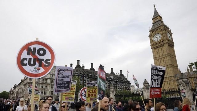 """Лондон на протест срещу """"Брекзит"""""""
