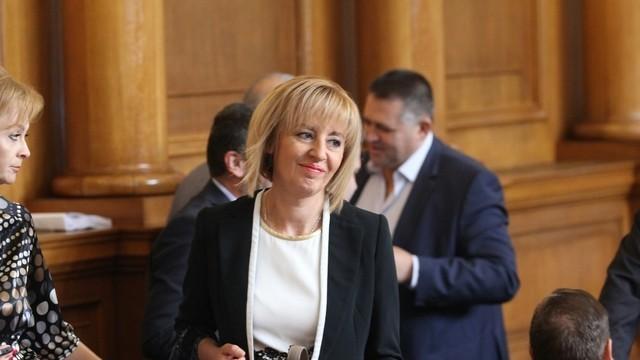 Мая Манолова е новият омбудсман на републиката