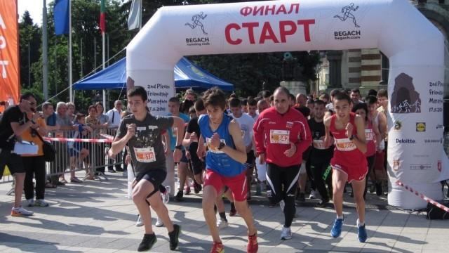 Цветан Цветанов се включи в Маратона на приятелството Плевен 2015