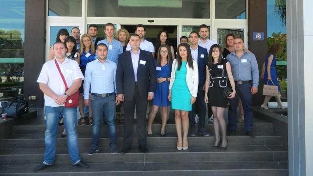 Плевен: От Младежи ГЕРБ участваха в среща на Северозапада