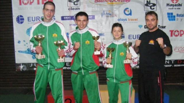 9 медала за русенски кикбоксьори  на силен турнир в Румъния