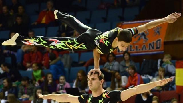 Русенски акробати четвърти  на Световната купа в Италия