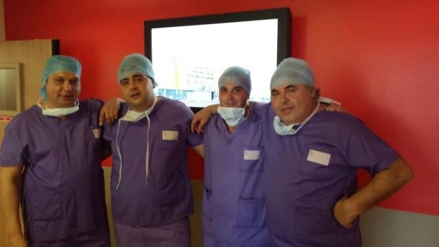 Плевенски ортопеди се обучаваха във Франция