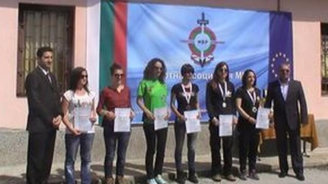 Женският отбор на полицейската дирекция в Плевен се класира трети на турнира по стрелба