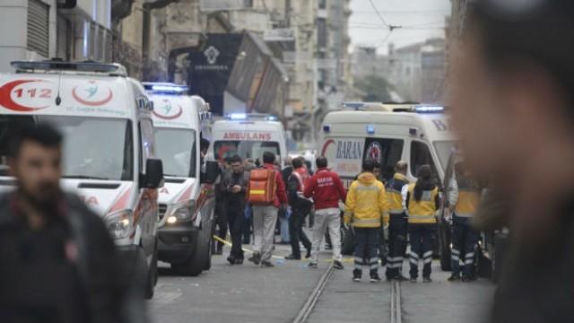 Истанбул: Новият атентат е от камикадзе, взривил се до полицейски участък
