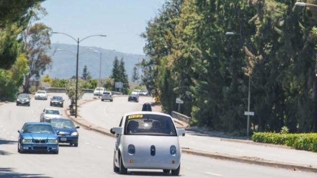 Полицай спря Google автомобил без шофьор… заради ниска скорост