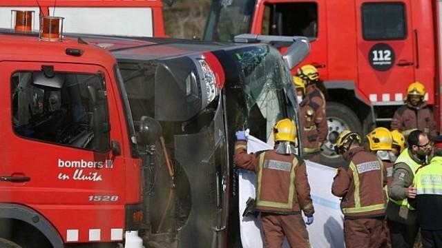 И българка сред ранените при катастрофата в Испания