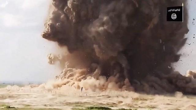 Ислямска държава пусна видео с взривяването на храм на 3000 години
