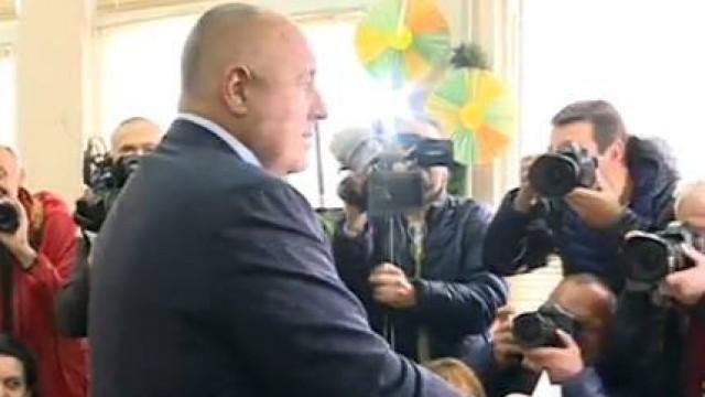 Борисов: ГЕРБ по никакъв начин няма да участва във властта, ако загуби днес!