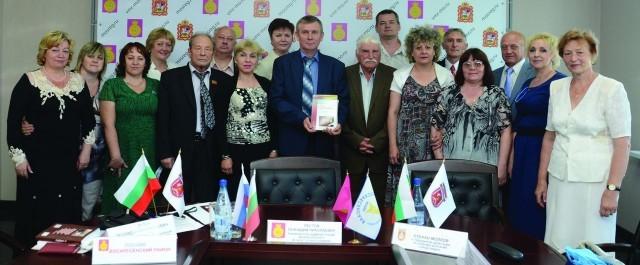 Плевенска културна делегация посети Русия