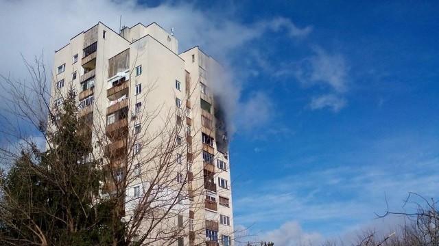 Сигнал за пожар вдигна на крак огнеборци в Плевен