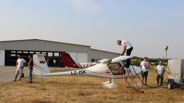 Плевен: Участниците в Третата въздушна обиколка на България със спирка на летище Бохот /Снимки/