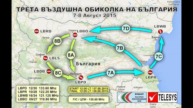 Летище Бохот LM в готовност да посрещне Третата въздушна обиколка на България