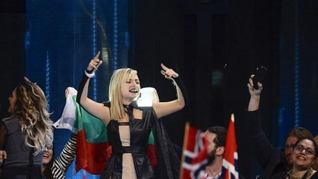 Поли Генова на финала на Евровизия /ВИДЕО/