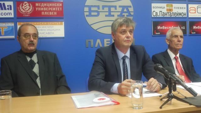 Кандидатът за кмет на Плевен Красимир Атанасов: Основната ни цел е защита живота и здравето на хората