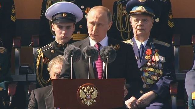 Вижте военният парад по случай Деня на победата в Москва