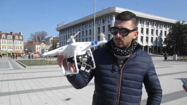 Представят Плевен от птичи поглед, снимат с дрон