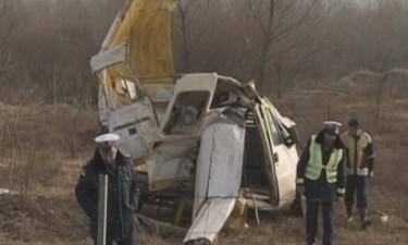 Сърбия: Тежка катастрофа с нелегални имигранти, 40 ранени