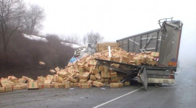 29-годишен шофьор на ТИР загина на пътя Русе-Разград /ОБНОВЕНА/