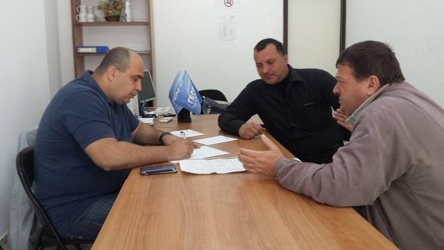 Депутатът Владислав Николов проведе открита приемна в Белене