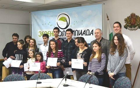 Ученичка от Плевен с първа награда от Зелената олимпиада