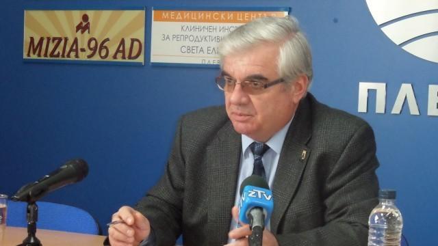 Кметът проф. д-р Димитър Стойков: Безработицата в община Плевен намалява