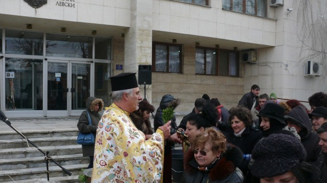 С водосвет в град Левски почетоха празника Богоявление