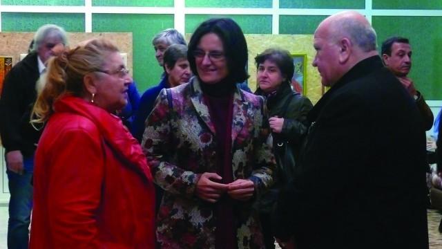 Изложба живопис на Петранка Новосад представят в Левски